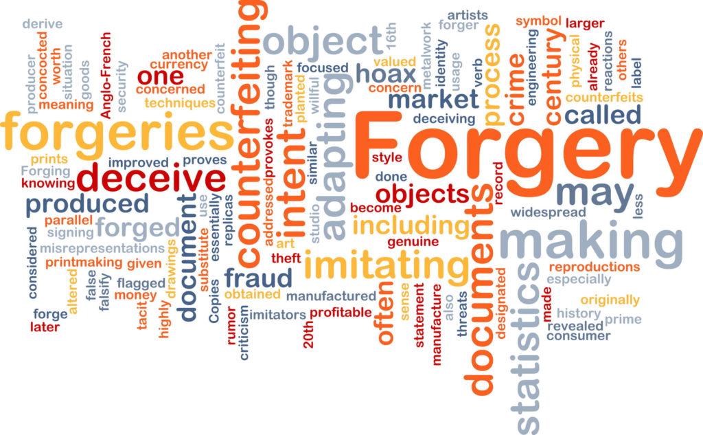 Forgery Las Vegas